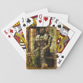 Ancient Robot Playing Cards