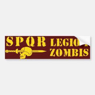 Ancient Roman 1st Zombie-Hunting Legion Bumper Sticker