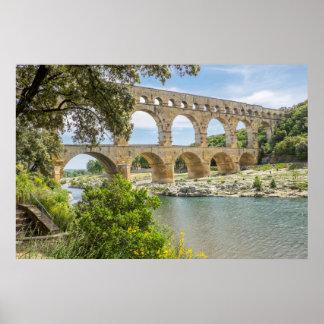 Ancient Roman Aqueduct Poster