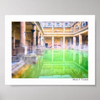 Ancient Roman Baths - Bath, England Mini Poster