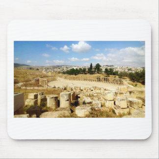 Ancient Roman City Jerash Mouse Pad