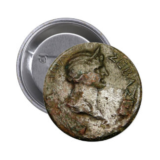 Ancient Roman Coin Pinback Buttons