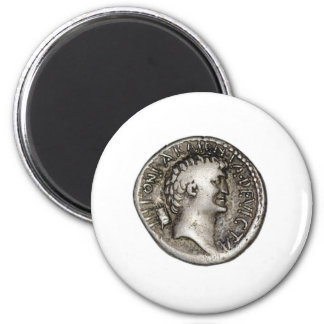 Ancient Roman Coin Marc Antony Magnet