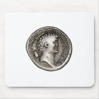 Ancient Roman Coin Marc Antony Mouse Pad