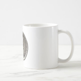 Ancient Roman Coin Marc Antony Classic White Coffee Mug