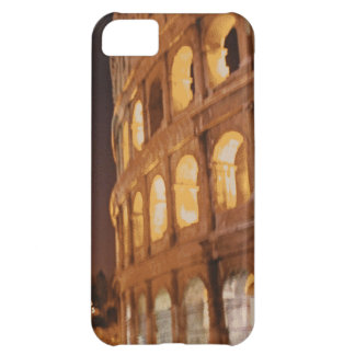 Ancient Roman Colosseum Rome at Night iPhone 5C Covers