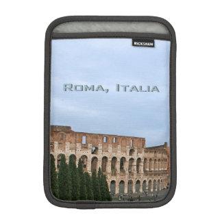 Ancient Roman Colosseum Rome Italy Architecture iPad Mini Sleeves