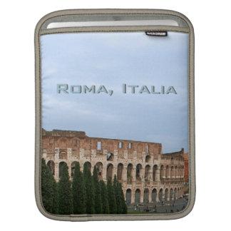 Ancient Roman Colosseum Rome Italy Coliseum iPad Sleeves