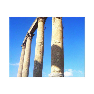Ancient Roman Columns Canvas Print