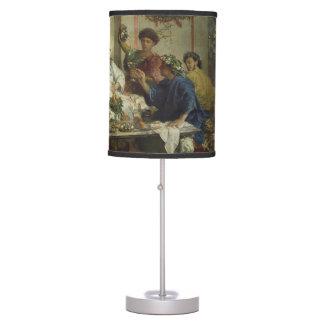 Ancient Roman Dinner Party Feast Desk Lamp