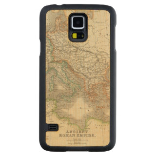 Ancient Roman Empire Carved Maple Galaxy S5 Slim Case