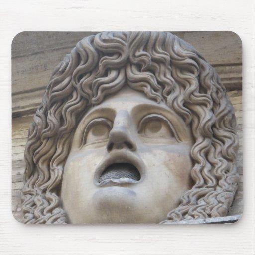 Ancient Roman Gorgon - mythology Mouse Pad