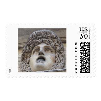 Ancient Roman Gorgon - mythology Postage