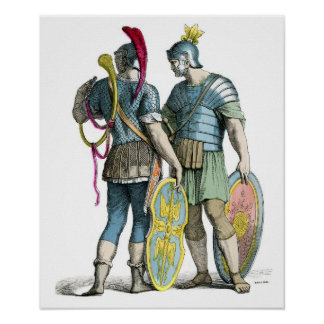 Ancient Roman Legionaries Poster