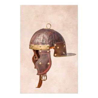 """Ancient Roman military helmet 5.5"""" X 8.5"""" Flyer"""