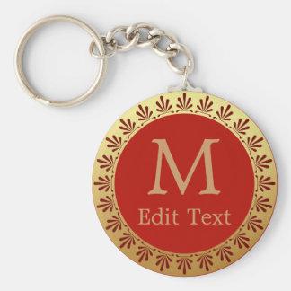 Ancient Roman Monogram Keychain