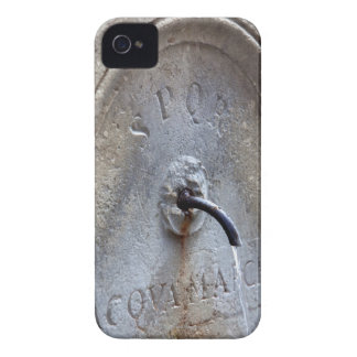 Ancient Roman public water fountain iPhone 4 Cover