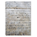 Ancient Roman Sign Note Book