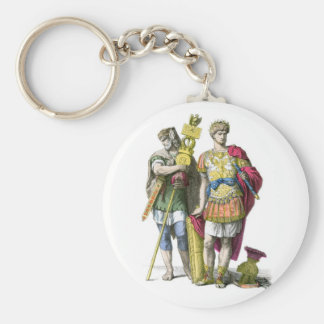 Ancient Roman Standard Bearer and General Keychain