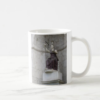 Ancient Roman Statue in Italy Mugs
