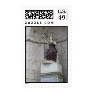 Ancient Roman Statue in Italy Postage Stamps