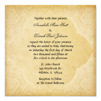 Ancient Roman Wedding Invitation