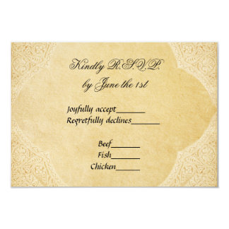 Ancient Roman Wedding RSVP Card