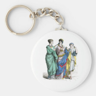 Ancient Roman Women Keychains