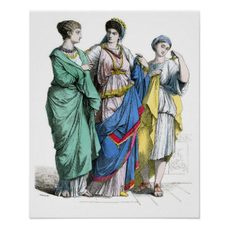 Ancient Roman Women Poster