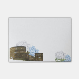 Ancient Rome Blue Hydrangea Note Pad