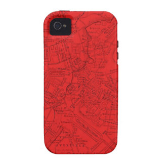 Ancient Rome in Red iPhone 4 Case
