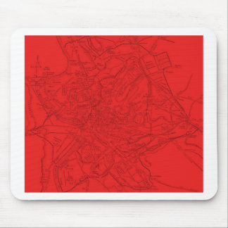 Ancient Rome in Red Mouse Pad