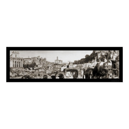 Ancient Rome, Italy Photo 1909 Poster