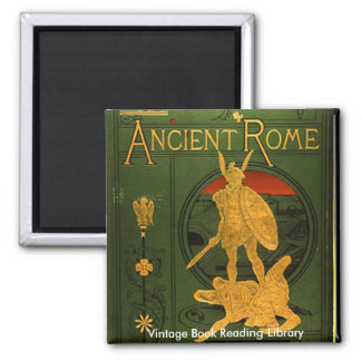 Ancient Rome 2 Inch Square Magnet