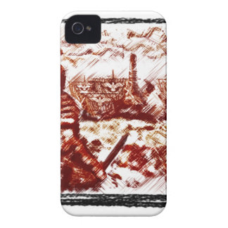 Ancient Rome -  Naval fleet is coming iPhone 4 Case-Mate Case