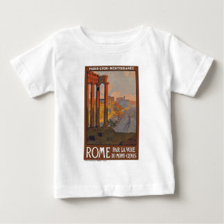 Ancient Rome Travel Ad Painting Baby T-Shirt
