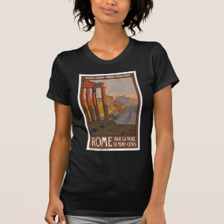Ancient Rome Travel Ad Painting T-Shirt