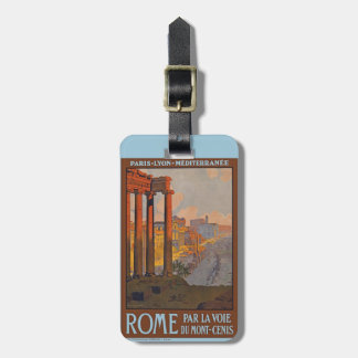 Ancient Rome Travel Luggage Tag