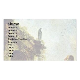Ancient Ruins By Robert Hubert Business Card Templates