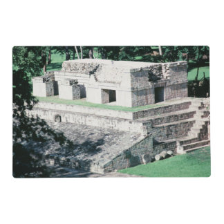 Ancient Ruins City of Copan Honduras Mayan Design Placemat