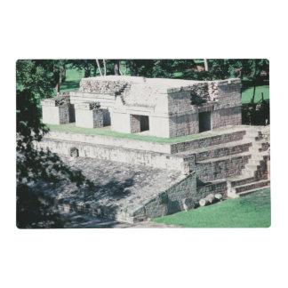 Ancient Ruins City of Copan Honduras Mayan Design Placemat