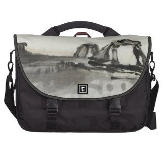 Ancient Ruins Desert Art Bag For Laptop