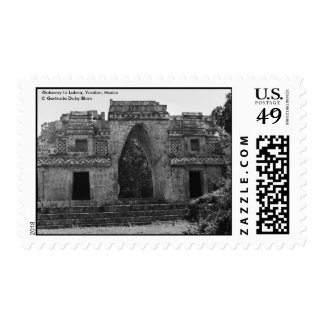 Ancient Ruins: Gateway to Labna, Yucatan, Mexico Postage