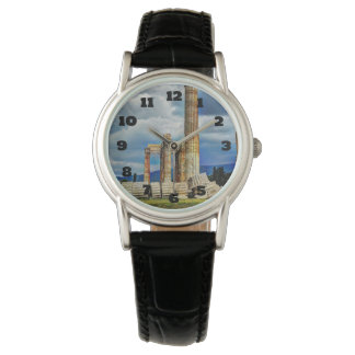 Ancient Ruins in Athens Greece Wrist Watch