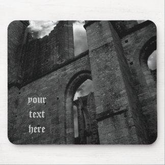 Ancient ruins Larchant souvenir Mouse Pad