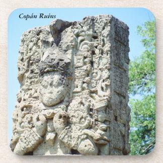 Ancient Ruins of Copan Honduras Photo Printed Coaster