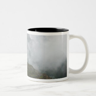Ancient ruins of Machu Picchu with Andes Coffee Mug