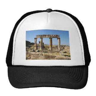 Ancient Ruins Pictures APOLLO'S TEMPLE Trucker Hat