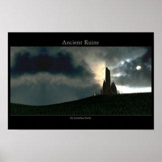 Ancient Ruins Poster