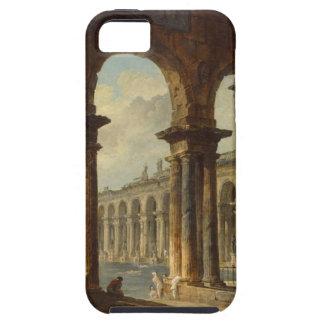 Ancient Ruins Used as Public Baths Hubert Robert iPhone SE/5/5s Case